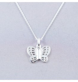 LAVI Butterfly Necklace Sterling Silver