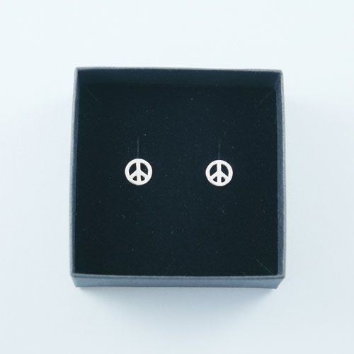 Peace Ear Studs