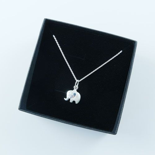 LAVI Elephant Necklace Sterling Silver