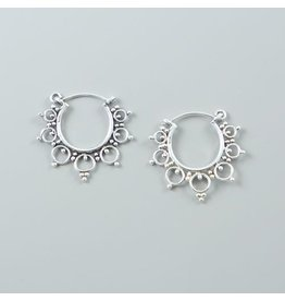 LAVI Sterling Silver Hoops