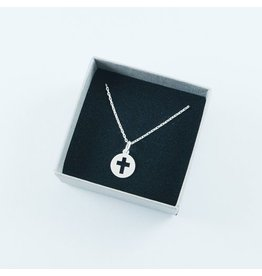 LAVI Sterling Silver Cross Chain