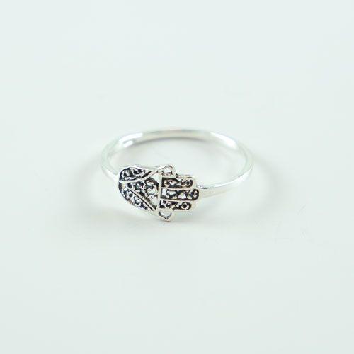 LAVI Fatima Hand Ring Silver