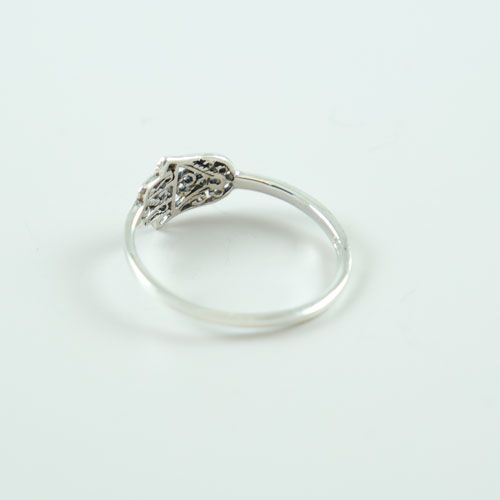 LAVI Zilveren Fatima Hand Ring