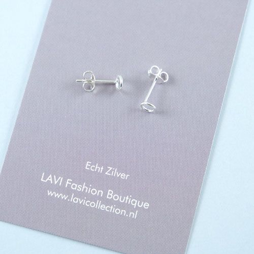LAVI Open Circle Earrings - Sterling Silver