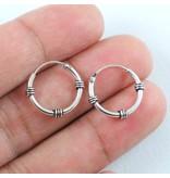 LAVI Sterling Silver Bali Earrings