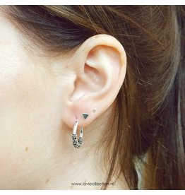 LAVI Mini Triangle Ear Studs