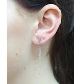 LAVI Bar & Chain Earrings
