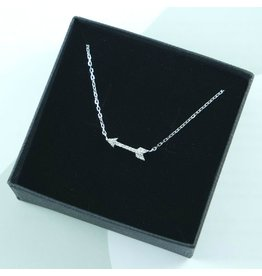 LAVI Sterling Silver Arrow Necklace