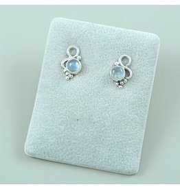 LAVI Moonstone Ear Studs