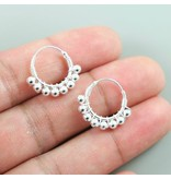 LAVI Sterling Silver Bali Earrings - 19mm