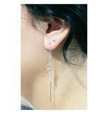 LAVI Turquoise Ear Studs - 2mm