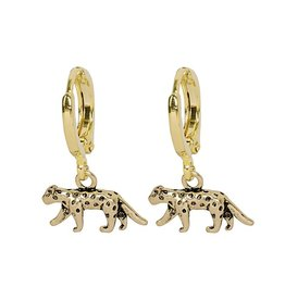 Wild Tiger Earrings