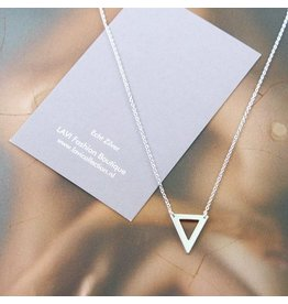 LAVI Open Triangle Necklace