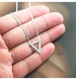 LAVI Open Triangle Necklace
