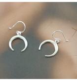 LAVI Horn Earrings - Silver