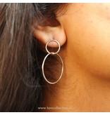 Sterling Silver Innercircle Earrings