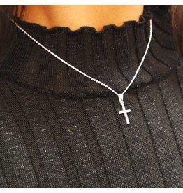 LAVI Zilveren Kruis Ketting
