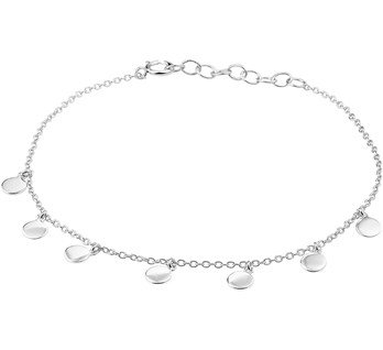 Sterling Silver Coins Bracelet