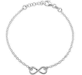 LAVI Infinity Armband Zilver