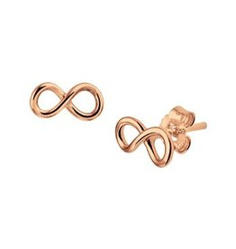 LAVI Gold plated Infinity Ear Studs  - Copy