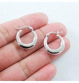 LAVI Classic Hoops - Sterling Silver