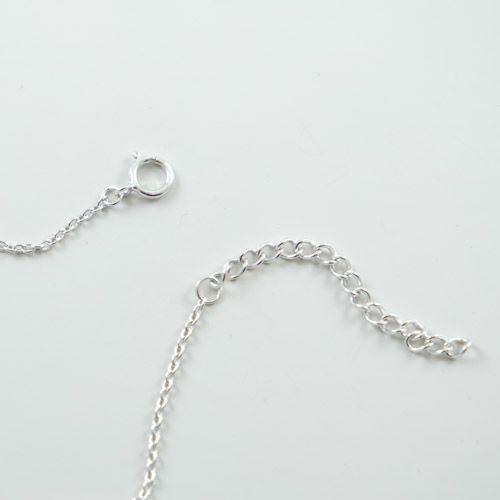 Zircon Necklace - Sterling Silver