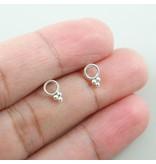 LAVI Open Circle Ear Studs