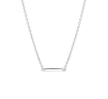 LAVI Sterling Silver Bar Necklace