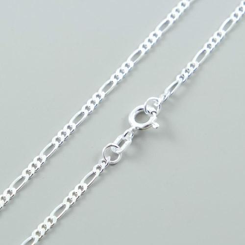 LAVI Short necklace Figaro links