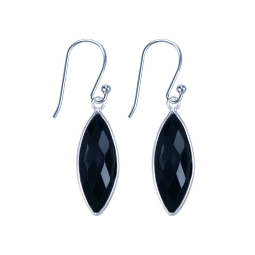 LAVI Onyx Earrings Sterling Silver