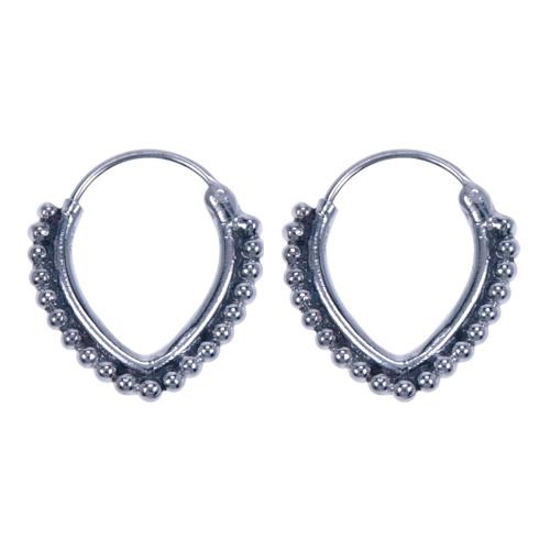 LAVI Bali Hoop Earrings