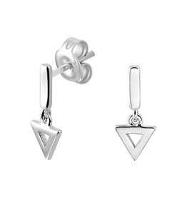 LAVI Open Triangle Earrings