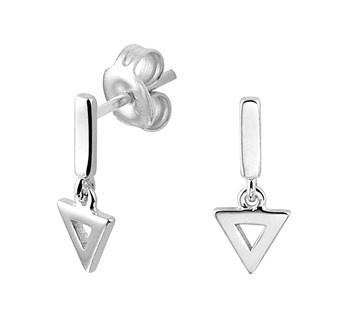 LAVI Open Triangle Earrings