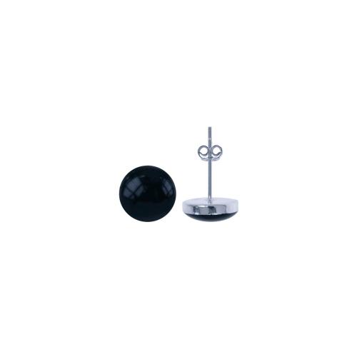 LAVI Onyx Ear Studs 4mm