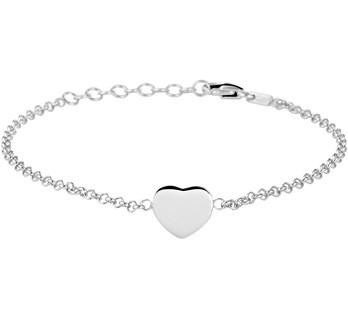 LAVI Sterling Silver Heart bracelet
