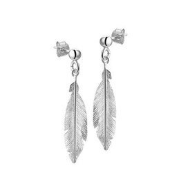 LAVI Feather Earrings Silver