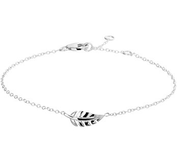 Feather Bracelet Sterling Silver
