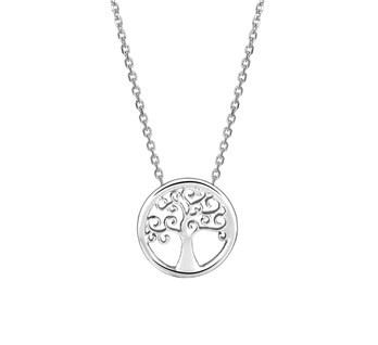 LAVI Zilveren Levensboom Collier