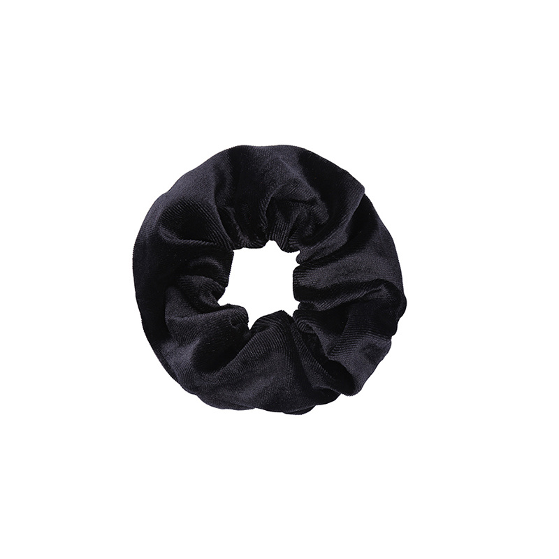 Zwarte Scrunchie