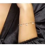 Armband Rondjes Zilver