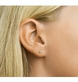 Sterling Silver Bar Stud Earrings