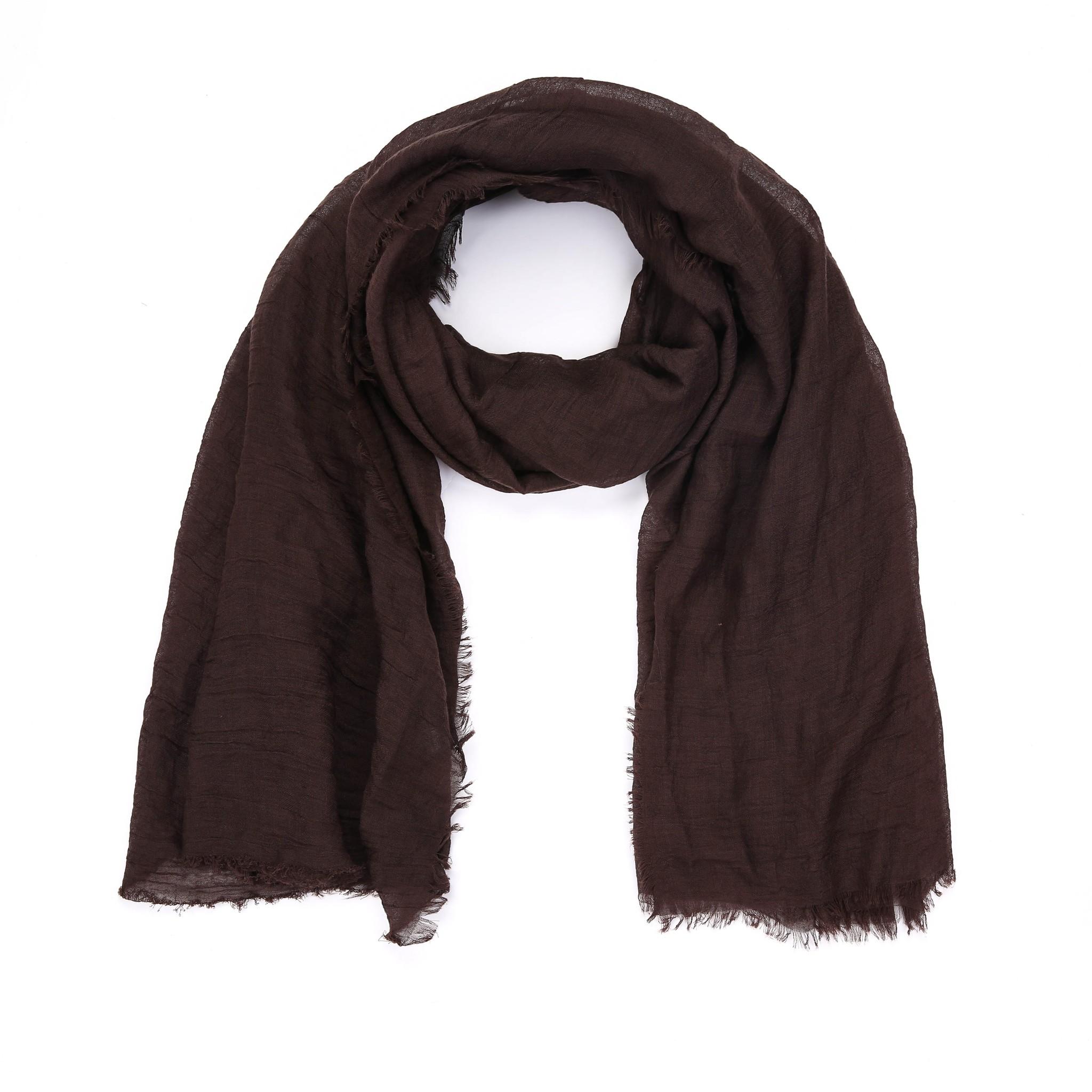 Sjaal Koffie bruin