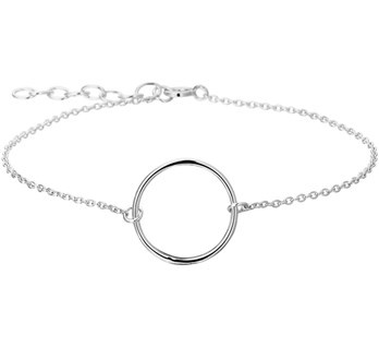Sterling Silver Open Circle bracelet