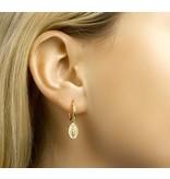 Scapular  Gold plated Earrings