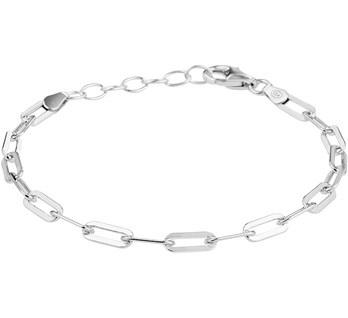 Link bracelet silver