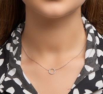 LAVI Open Cirkle Necklace