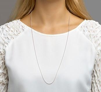 LAVI 80cm Silver Ball chain