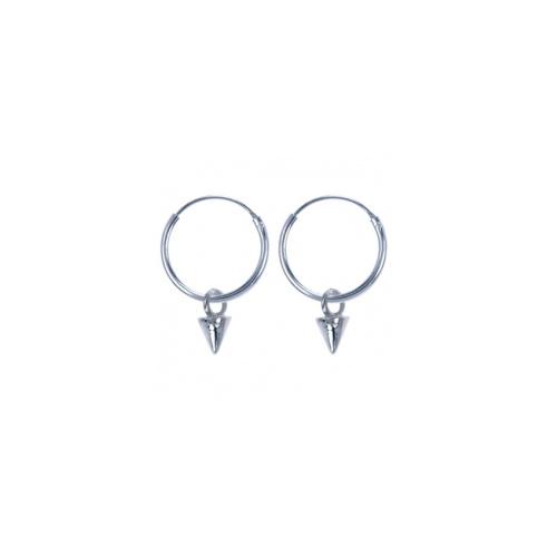 Spike Earrings - Sterling Silver