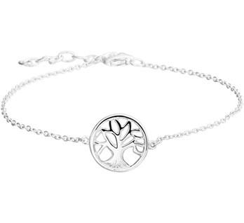 LAVI Zilveren Levensboom Armband