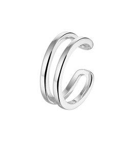 Ear cuff Dubbel 925 Silver